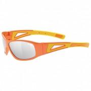 Uvex Kid`s Sportstyle 509 LiteMirror Cat: 3 Occhiali da sole arancione/grigio