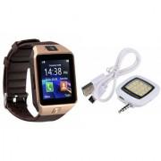 Zemini DZ09 Smart Watch and Mobile Flash for PANASONIC ELUGA ICON(DZ09 Smart Watch With 4G Sim Card Memory Card| Mobile Flash Selfie Flash)