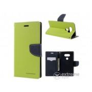 Husa piele Mercurycase Fancy Diary pentru Samsung Galaxy J5 (2016) (SM-J510), verde