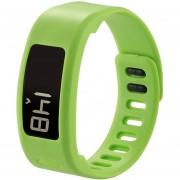 Para Garmin Vivofit 1 Smart Watch De Silicona Ajustable, Longitud: 21 Cm (verde)