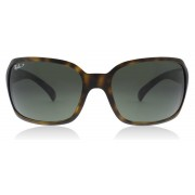 Ray-Ban RB4068 Sunglasses Matte Havana 894/58 Polarized 60mm