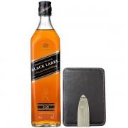 Johnnie Walker Black Label Portcard Gift Set 0.7L