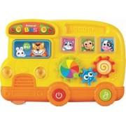Jucarie muzicala Baby Mix Autobuzul Animalelor