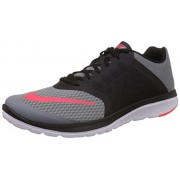 Nike Men's FS Lite Run Midnight Navy, Soar and White Running Shoes -10 UK/India (45 EU)(11 US)