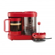 Cafetiera French Press Bistro Bodum, 1 l, 410 W, Rosu