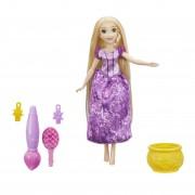 Disney Princess - Papusa Rapunzel cu accesorii de par