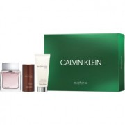 Calvin Klein Euphoria Men Geschenkset XVI. Eau de Toilette 100 ml + After Shave Balsam 100 ml + Deo-Stick 75 ml