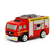 Coke Can Shenqiwei 8027 1:58 Water Tank Truck Fire-Engine RC Car Mini 4 Channel