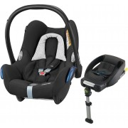 Maxi-Cosi CabrioFix Babyskydd, Black Grid & EasyFix Bas