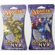 2 Packs of Magic: The Gathering - Mtg: Journey Into Nyx Booster Pack