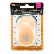 dpCraft Dekoračné dierovač 2,5 cm - puzzle, (JCDZ-110-028)