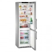 GARANTIE 4 ANI Combina frigorifica Liebherr, clasa A+++-20%, congelator NoFrost, full inox CNPes 4858