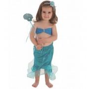 Disfraz de Sirenita Azul Set - Creaciones Llopis