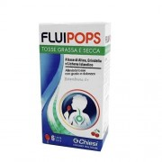Chiesi Farmaceutici Fluipops 6 Lecca Lecca Tosse Gusto Ciliegia