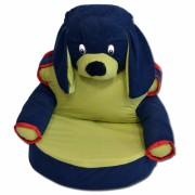 Fotelja za Decu Kuca - Plavo/Zelena