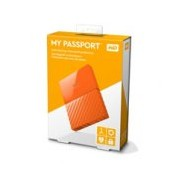 DD EXTERNO PORTATIL 1TB WD MY PASSPORT NARANJA 2.5/USB3.0/COPIA LOCAL/ENCRIPTACION/WIN
