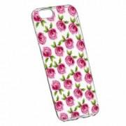 Husa Silicon Transparent Slim Flori Rose 107 Apple iPhone 6 PLUS 6S PLUS