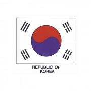 Budo Nord Koreansk Flagga