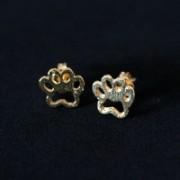 Earring Gold Plated Jewelry Semi Pata