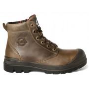 Mr. Miles TASMAN VAR Veiligheidsschoenen Hoge Werkschoenen S3 - Bruin/Zwart - Size: 45