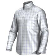 Maatoverhemd wit/blauw 53309