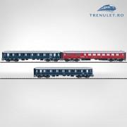 Set 3 vagoane calatori HO, Trix 23420
