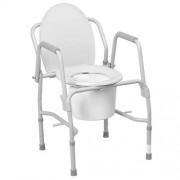 Homecraft Chaise percée avec accoudoirs rabattables