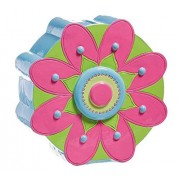 B. Boutique Pink and Green Flower Coin Bank by Blossoms & Buds