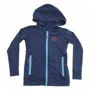 【セール実施中】【送料無料】Kid's Rash Guard Zip Parka CH20-1025 Navy