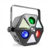 Beamz MadMan foco led 132 ledes SMD RGB 3 en 1 modo independiente o DMX (Sky-153.668)