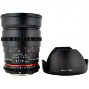 Samyang Cine SYCV35-C 35mm T1.5 Aspherical Wide Angle Cine Lens For Canon VDSLR
