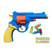 Realistic 1:1 Scale .45 ACP Revolver Prop - Rubber Bullet Pistol Toy Gun - British Bull-Dog Revolver | Backyard Blasters