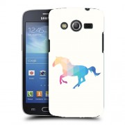 Husa Samsung Galaxy Core 4G LTE G386F Silicon Gel Tpu Model Abstract Horse