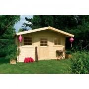 Abri de jardin bois GENEVE 11.5 m2