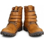 Digni MONK STRAP BOOT Boots For Men(Natural)