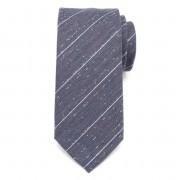 Férfi klasszikus nyakkendő (minta 351) 7166 -tól keverékek hullámdovod és selyem