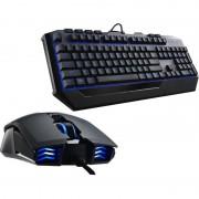 Kit tastatura si mouse CM Storm Devastator II Gaming Gear Combo Blue