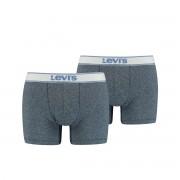 Levi's 2-pack boxershorts vintage - heather