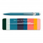 Bolígrafo Caran D´Ache 849 Paul Smith Limited Edition Petrol Blue 0849.006