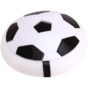 New Pinch Ultimate Indoor Football / Soccer Ball / Disc Toy with Foam Bumpers with Colorful LED Lights for Kids