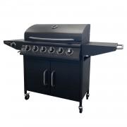 Happy Garden Barbecue au gaz TUCSON 6 brûleurs et 1 feu latéral