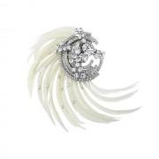 Agrafa Borealy Adore Luxe Feather