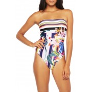 Trina Turk Treasure Cove One-Piece Swimsuit MLT
