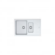 Chiuveta Franke Basis BFG 651-78, alba, cu ventil, 114.0531.806