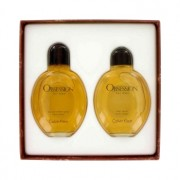 Calvin Klein Obsession 4 oz / 118 mL Eau De Toilette Spray + 4 oz / 118 mL After Shave Gift Set Men's Fragrance 421427