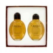 Calvin Klein Obsession 4 oz / 118 mL Eau De Toilette Spray + 4 oz / 118 mL After Shave Gift Set Men's Fragrance 421427