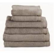 Neiper Juego de toallas algodón peinado 580 gr./m2 color taupe (98945)