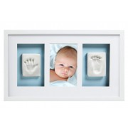Babyprints trostruki zidni ram, Beli