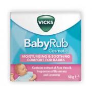 Procter & Gamble Vicks BabyRub unguento vasetto (50 ml)