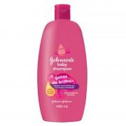 Shampoo Infantil Johnsons Baby Gotas de Brilho 400ml